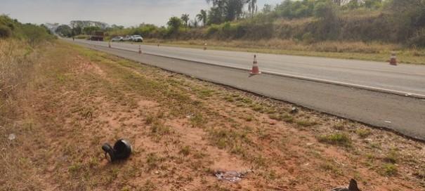 Motociclista morre após colisão frontal com caminhão na Rodovia da Integração, em Marabá Paulista