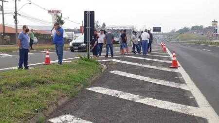 Manifestações de caminhoneiros são registradas no Oeste Paulista