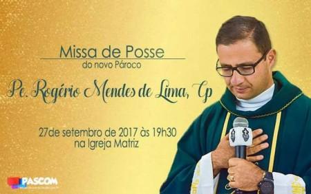Padre Rogério toma posse nesta quarta-feira como Pároco em Osvaldo Cruz