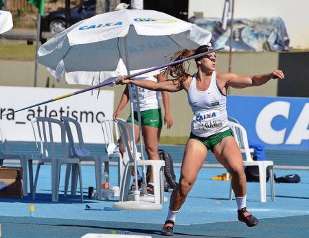 Osvaldocruzense Eloah Scramin vai disputar o Sul-Americano de Atletismo na Bolívia
