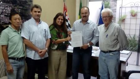 Supervisor do SENAR visita Osvaldo Cruz
