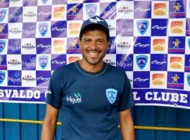 Luciano Baiano não é mais o técnico do Osvaldo Cruz F.C