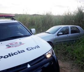 Polícia Civil localiza e apreende veículo utilizado na tentativa de assalto à Usina Cia. Flórida