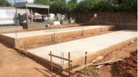 Iniciada implantação do sistema vertical no Cemitério de Adamantina