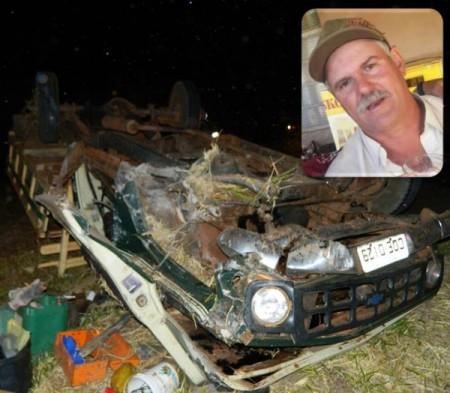 Floridense morre em grave acidente próximo da Mata Santana, na SP-294