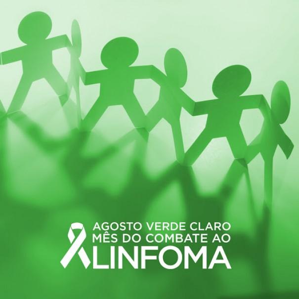 Agosto Verde: Mês de Combate ao Linfoma