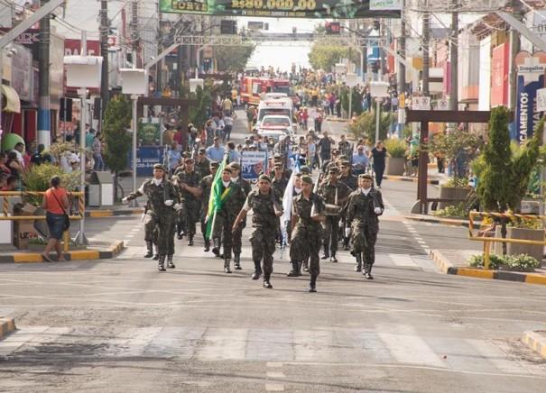 Começam os preparativos para o desfile de 7 de Setembro em Osvaldo Cruz