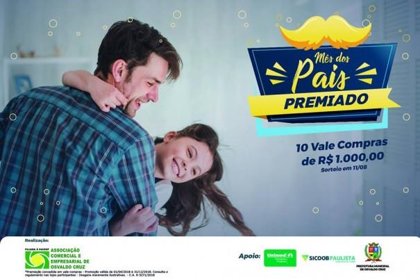 Dia dos Pais: Comércio de OC funciona em horário especial no final de semana