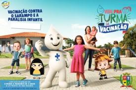 Segundo Dia D de Vacinação contra Pólio e Sarampo acontece neste sábado (18) em OC