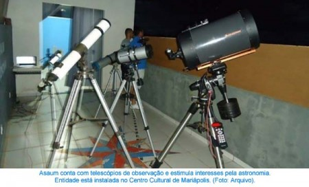 Associação de astronomia de Mariápolis completa 17 anos