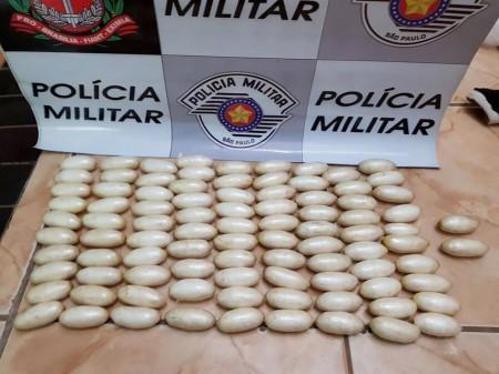 Nigeriano com 93 cápsulas de cocaína no estômago é detido por tráfico internacional na Rapozo Tavares