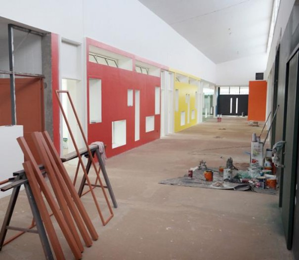 Obras da creche escola de Salmourão devem ser concluídas em dezembro
