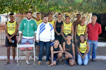 Prefeito de Salmourão, destaca a participação do município nos Jogos Regionais 2017