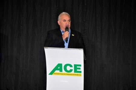 O empresário Edvaldo Marconato assume a presidência da Aceoc