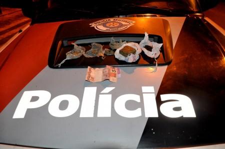 Menor é apreendido por tráfico de droga na Vila Esperança