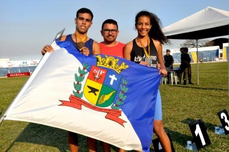 Atletismo de Osvaldo Cruz conquista mais duas medalhas nesta segunda-feira
