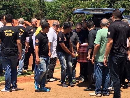 Corpo do presidente do Sindicato dos Agentes Penitenciários é sepultado em Presidente Prudente