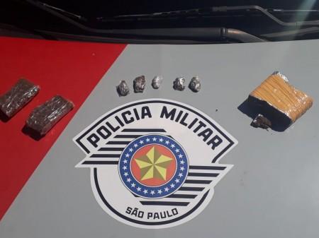 Polícia Militar de OC prende mais um envolvido com tráfico de drogas