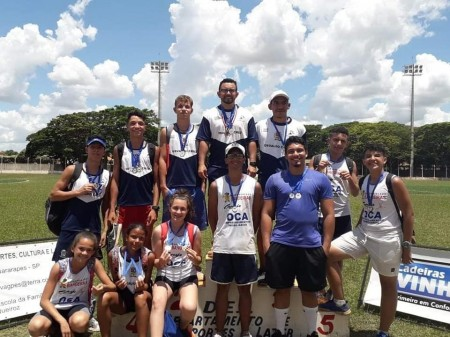 Atletismo de OC conquista novas medalhas