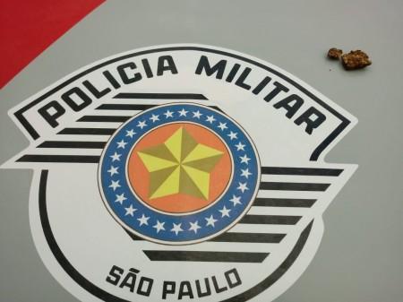 Polícia Militar de OC registrou uma ocorrência de porte de entorpecente