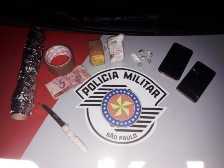 Mulher é detida pela Polícia Militar de OC por tráfico de entorpecentes