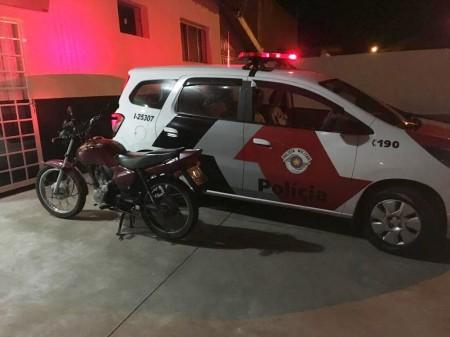 Polícia Militar de OC prende homem por furto de moto na Avenida Estados Unidos