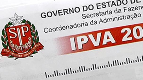 IPVA 2019 será, em média, 3,34% mais barato para proprietários paulistas