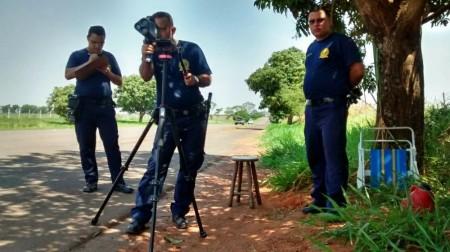 Operação Radar vai fiscalizar motoristas em rodovia que dá acesso à Represa Laranja Doce, em Martinópolis