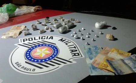 Pai e Filha são presos por tráfico em Lucélia pela Polícia Militar