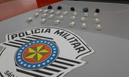 Flagrante de tráfico de drogas em Lucélia nesta quinta-feira