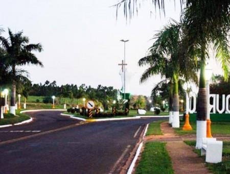 Prefeitura de Salmourão revitaliza entrada da cidade