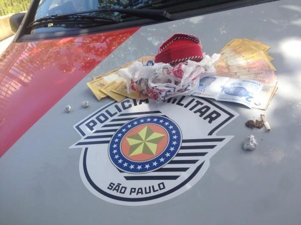 Motociclista luceliense é detido portando droga na Vila Esperança