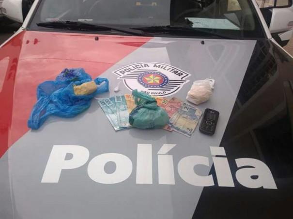 Casal de Osvaldo Cruz é preso por tráfico em Presidente Prudente