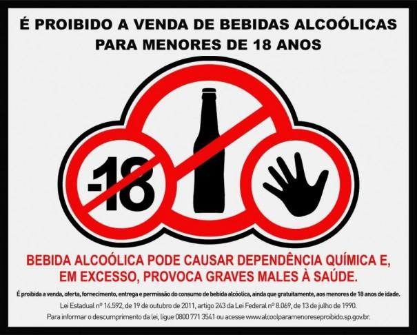 A Polícia Militar de Osvaldo Cruz flagra conveniência vendendo bebida alcoólica para menor