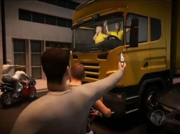 Bandidos armados rendem motorista na SP-425 e roubam caminhão que transportava óleo vegetal