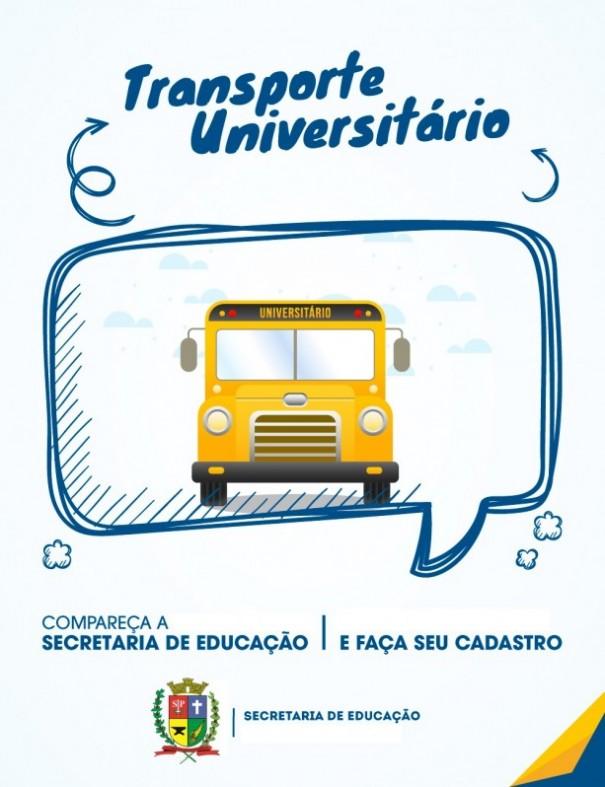 Começa hoje o período de inscrição para o Transporte Universitário Gratuito em OC