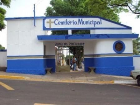 Cemitério de Osvaldo Cruz estará fechado no final de semana do dia dos pais