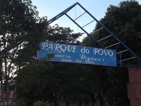 Polícia Militar de Osvaldo Cruz prende homem com tijolo de maconha no Parque do Povo
