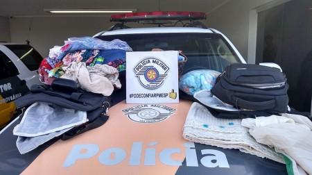 Bolivianos e brasileira são presos com roupas engomadas em cocaína em Presidente Venceslau