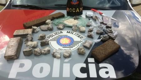 Polícia Militar de Adamantina prende seis pessoas por tráfico de drogas