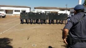 Força Tática da PM realiza Treinamento de Controle de Multidões