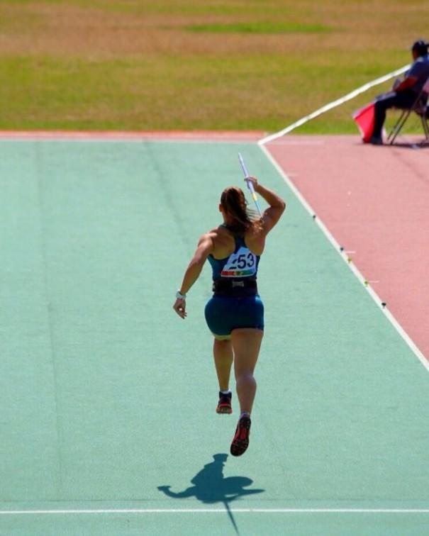 Medalha de bronze nos Jogos Sul-Americanos, Eloah Caetano Scramin anuncia lesão