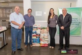 Evento organizado pela ACEOC arrecada alimentos para o Lar São Vicente de Paulo de OC