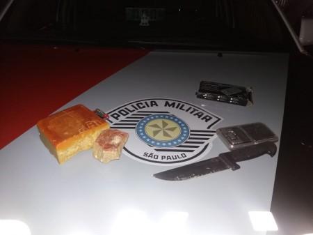 Menor é detido com mais de meio kg de crack em Dracena