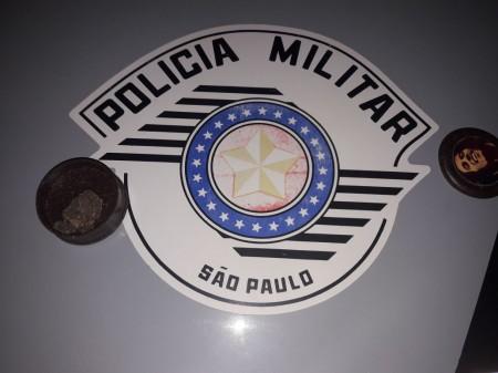 Polícia Militar detém usuário por porte de entorpecente em vicinal de Lucélia