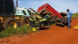 Acidente de trabalho mata tratorista na Zona Rural de Parapuã