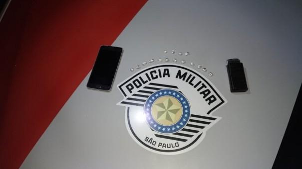 Polícia Militar de OC detém menor por tráfico de entorpecente, no bairro Agostinho Caliman