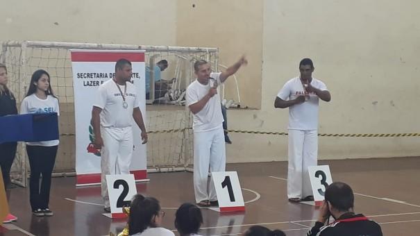OC conquista ouro e prata na Capoeira nos Jogos Regionais em Marília