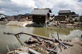 Japão procura sobreviventes após chuvas que deixaram 199 mortos