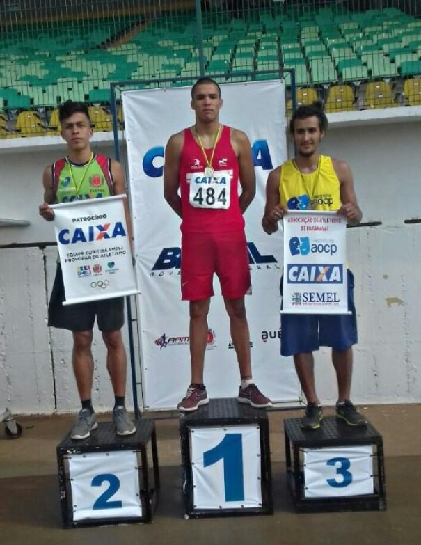 Daylon conquista o 1º lugar no estadual do Paraná
